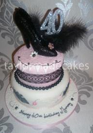 40th black shoe