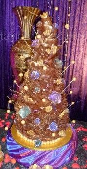 7 tier chocolate wrap