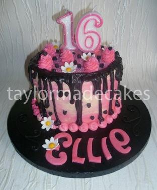Black & pink 16th