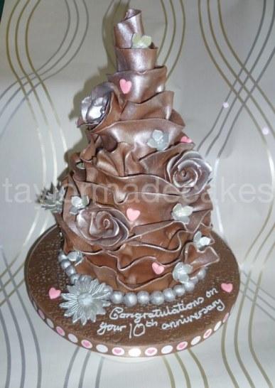 Chocolate wrap