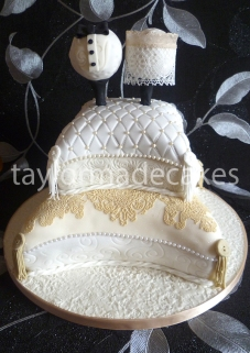 golf-wedding-cake