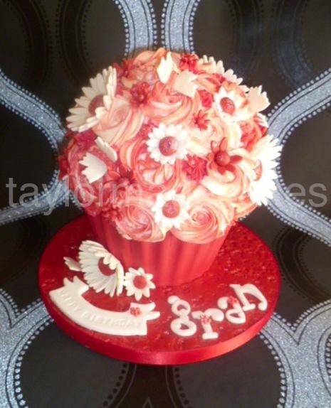 Grans giant cupcake