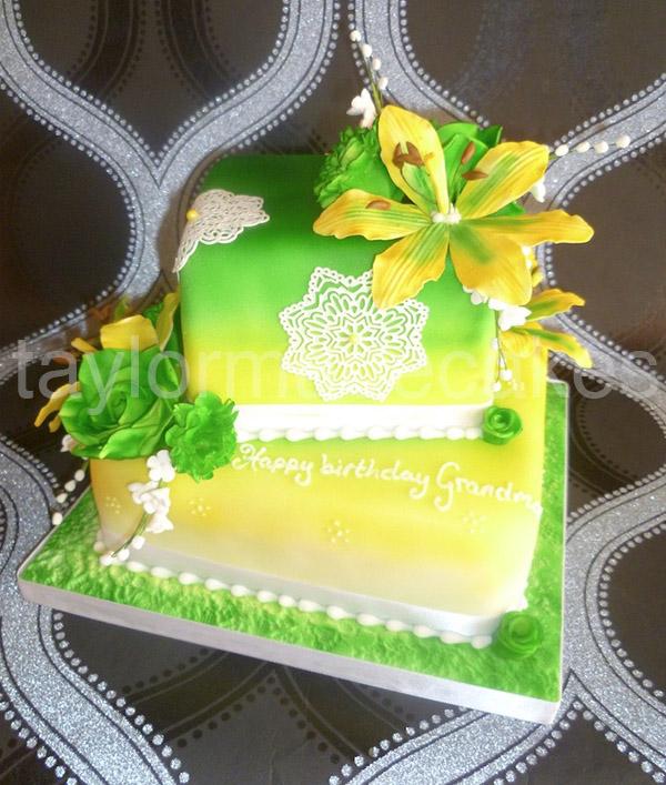Green & yellow