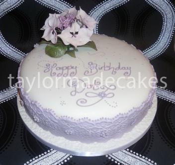 Lavender lace