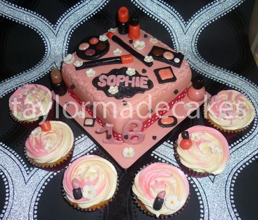 Makeupcake:cupcakes