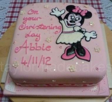 Minnie christening