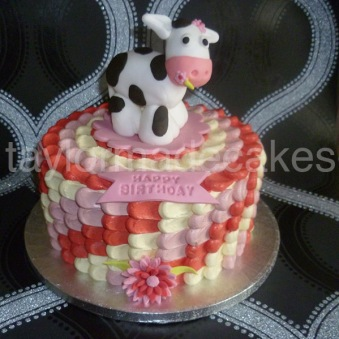 Ombre cow