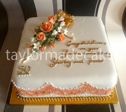 Peach:golden anniversary