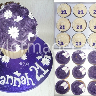 purple-giant-cupcake