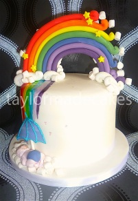 Rainbow baby shower