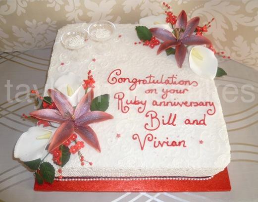Ruby anniversary lillys