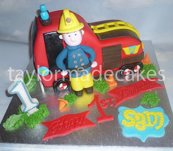 Sam fire engine