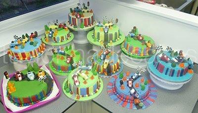 Striped cakes & cars advanced