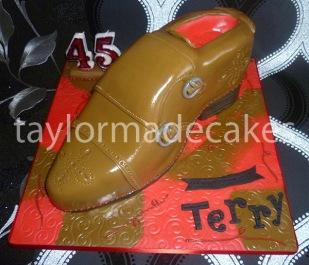 Terry's shoe