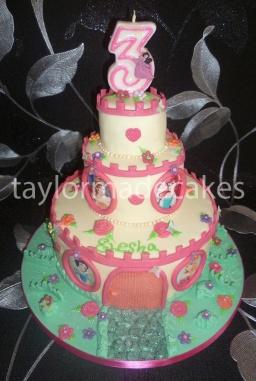 Three cake castle
