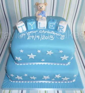 Two tier christening