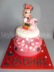 Two tiered Minnie