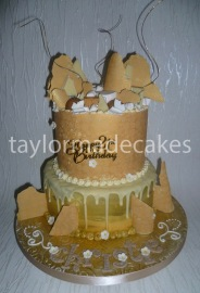 White choc & toffee 21st