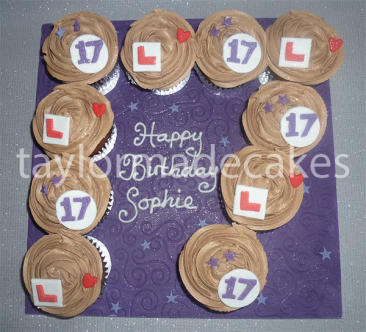 17th cupcakes