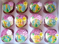 Tink cupcakes