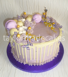 White choc and lilac