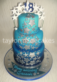 Blue ombre 18th