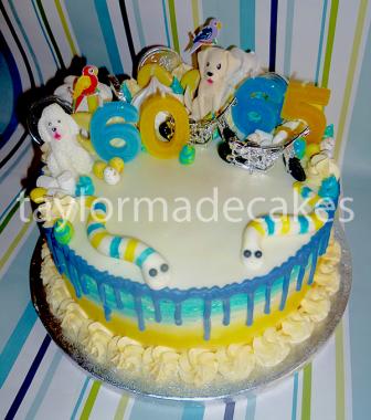 Blue & yellow hobbies