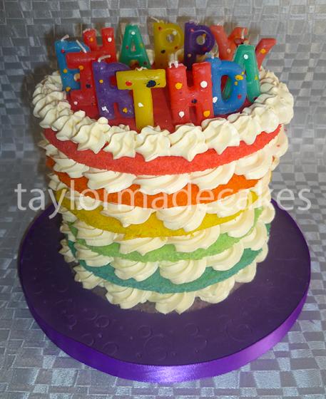 Birthday rainbow