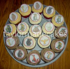 Gruffalo cupcakes