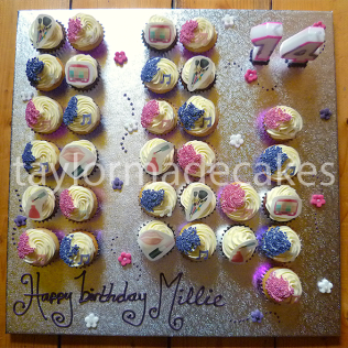 Number 14 cupcakes