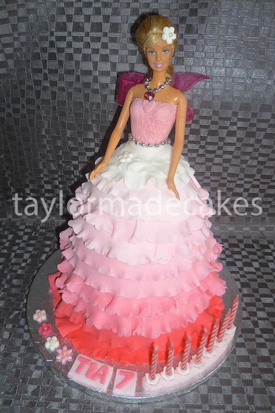 Eggless Barbie doll