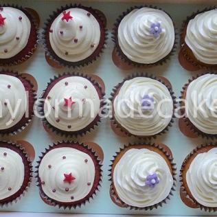 Red velvet & vanilla